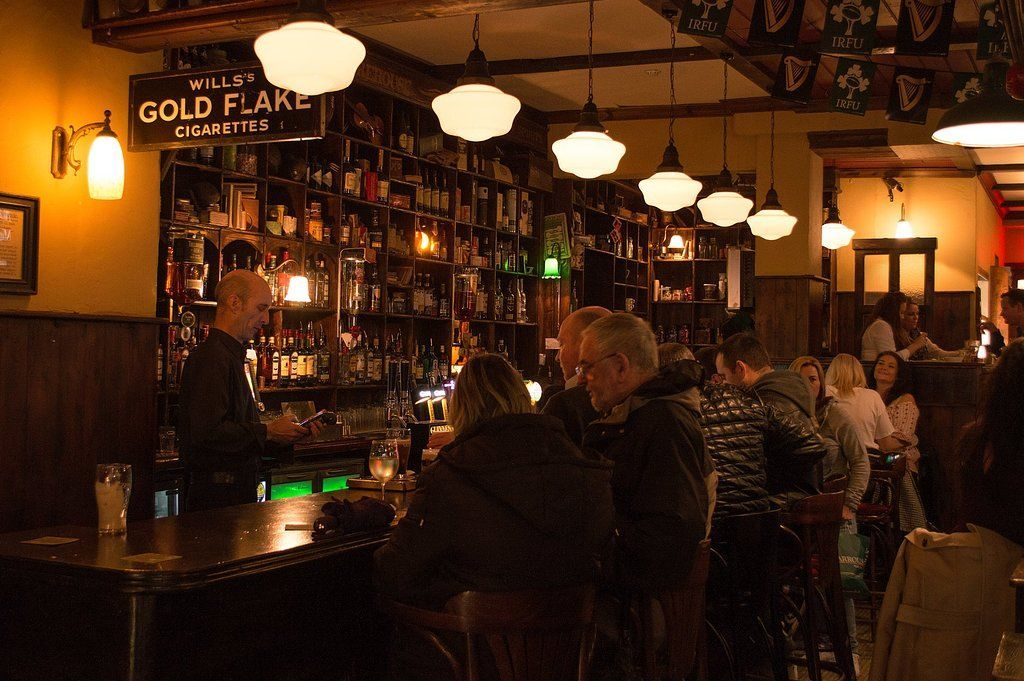The Old Storehouse is another of the best bars in Temple Bar.