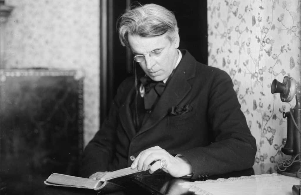 W.B. Yeats is truly one of the top famous Irish people.