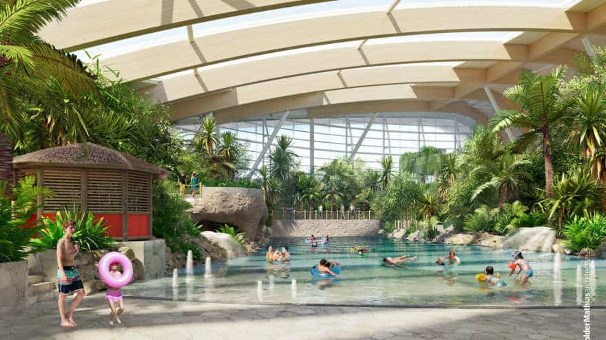 Center Parcs in Longford is a fun holiday park for all the family
