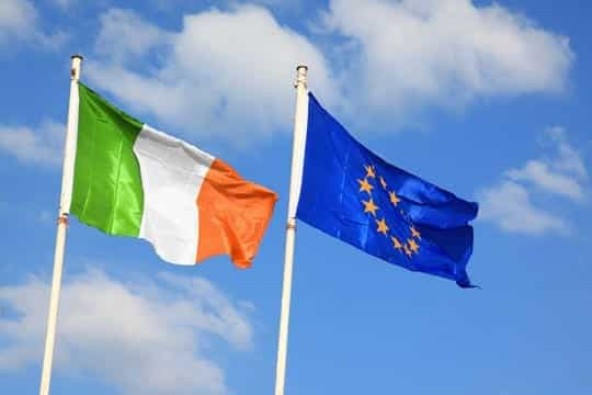 The south of Ireland is part of the European Union