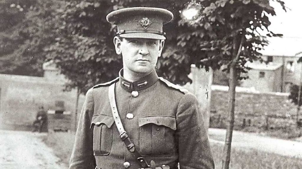 Michael Collins is one of the 10 most famous Irish people ever