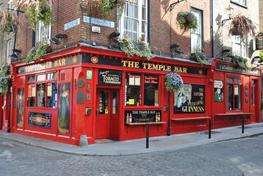 Temple Bar is Ireland's most Instagrammed pub