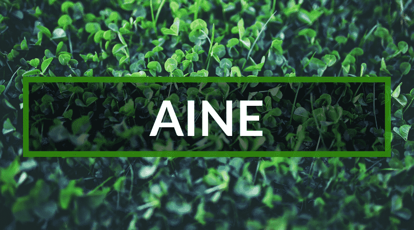 Aine is a name steeped in mythology.