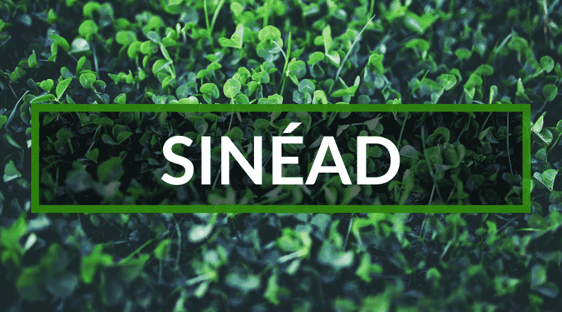 Sinéad is one of out top Irish girl names.