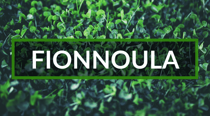Fionnoula is another of the top Irish girl names.