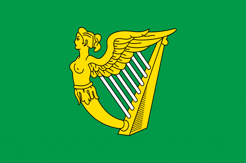 The harp is Ireland's national emblem