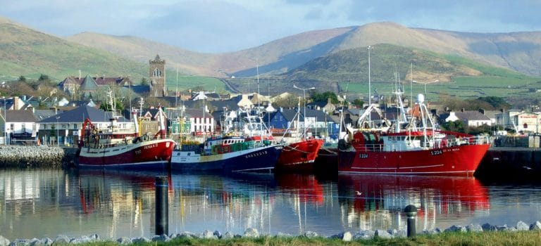 Dingle is one of the best places for a honeymoon in Ireland.