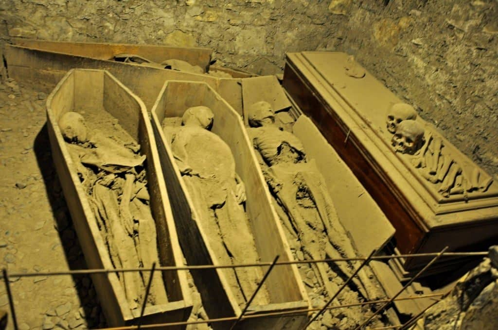 Home to famous mummies, St. Michan's Church is a widely regarded haunted place in Ireland.