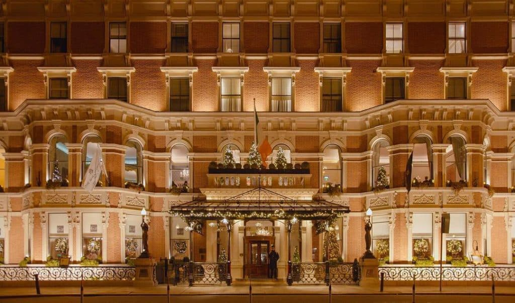 Dublin's Grand Shelbourne Hotel is also rumoured to be home to an eight-year-old ghost.