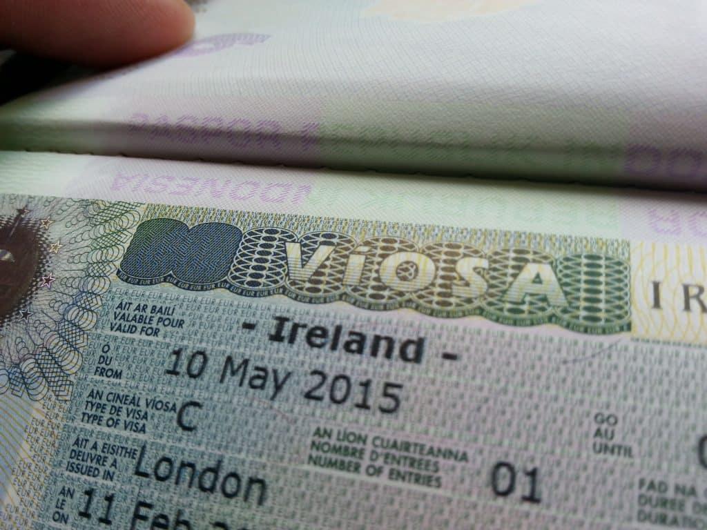 Some non-European countries seek visas to Ireland more than others