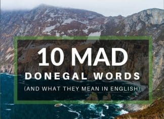 donegal words