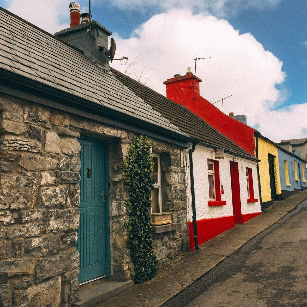 Cong is one of the 5 most picturesque villages in Ireland