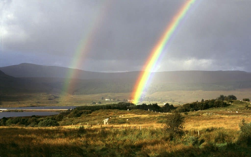 Amazing facts about rainbows include the meaning of the word