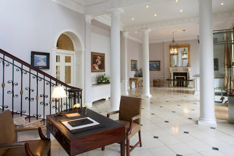 The Merrion is considered to be Dublin's best hotel