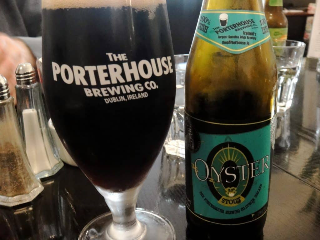Porterhouse Oyster Stout tastes a little like the sea and maybe be another contender to be better than Guinness.