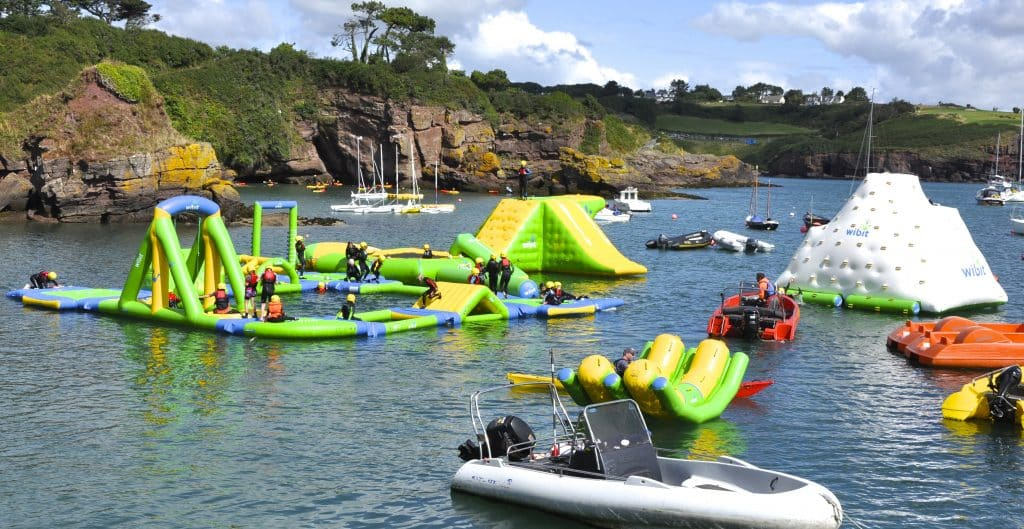 Dunmore Adventure, one of the top outdoor watersports fun parks in Ireland, is a blessing on a sunny day.