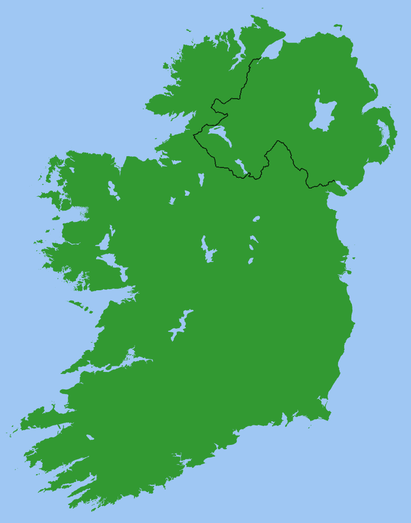 Map Of Ireland 26 Counties.10 Facts You Never Knew About The Border In Ireland