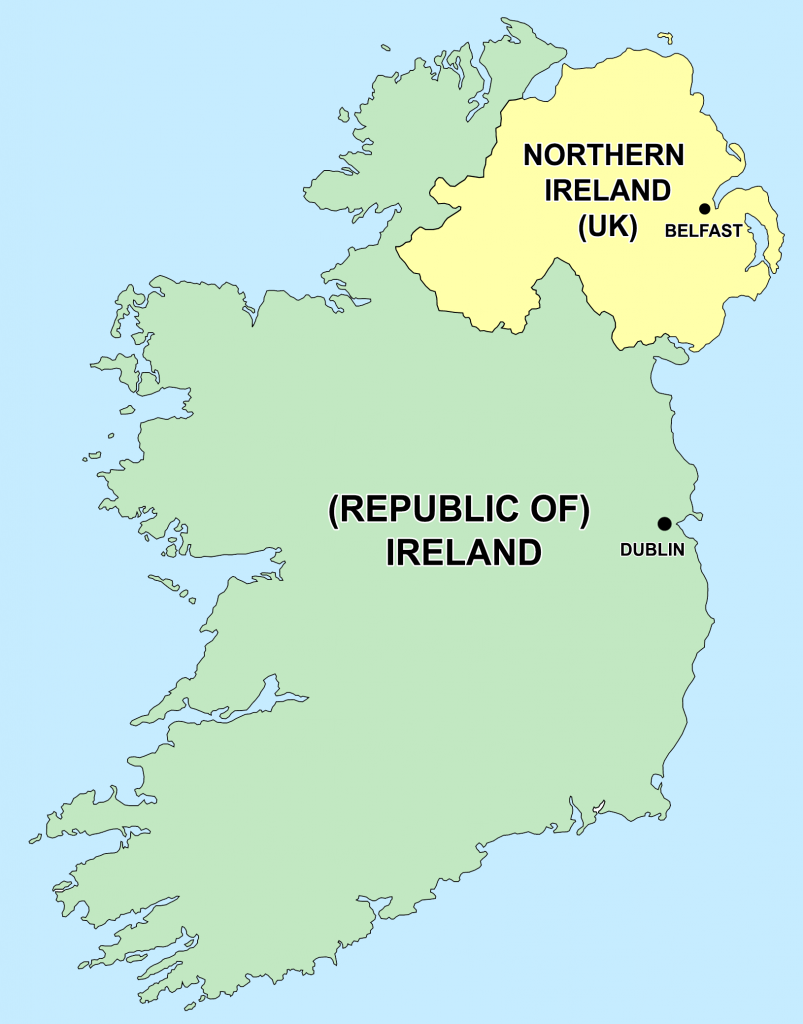 The Partition of Ireland is another of the top most important moments in Celtic history.