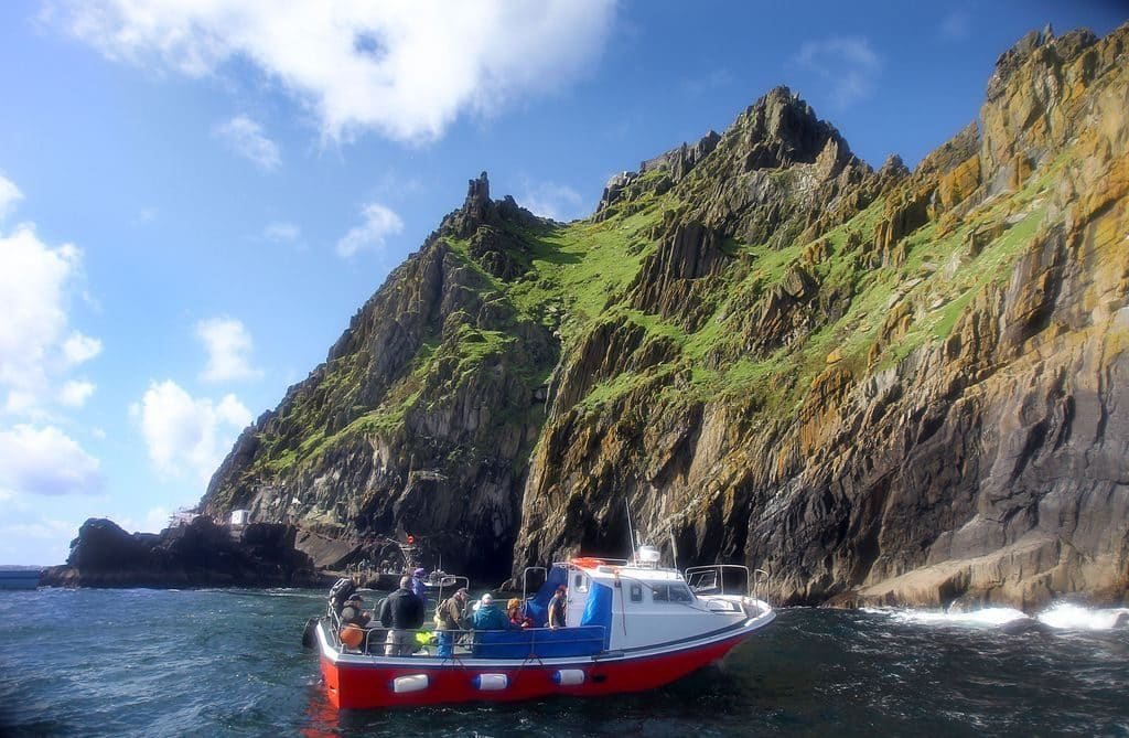 A boat tour around the famous Skellig Islands.
