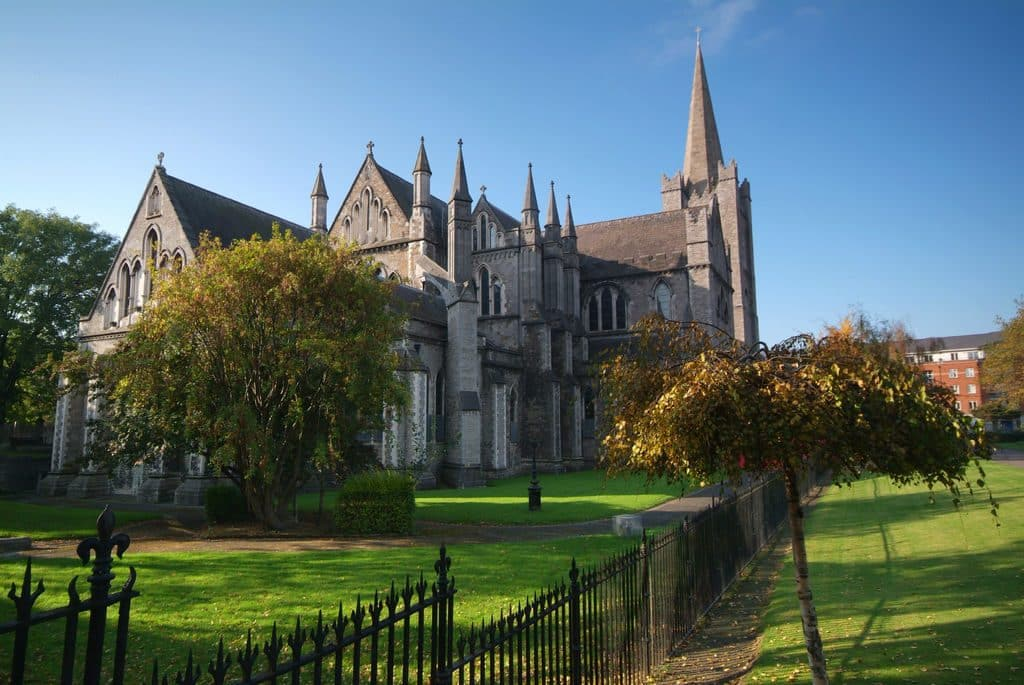 St. Patrick's Cathedral is the preeminent churchly attraction in all of Ireland
