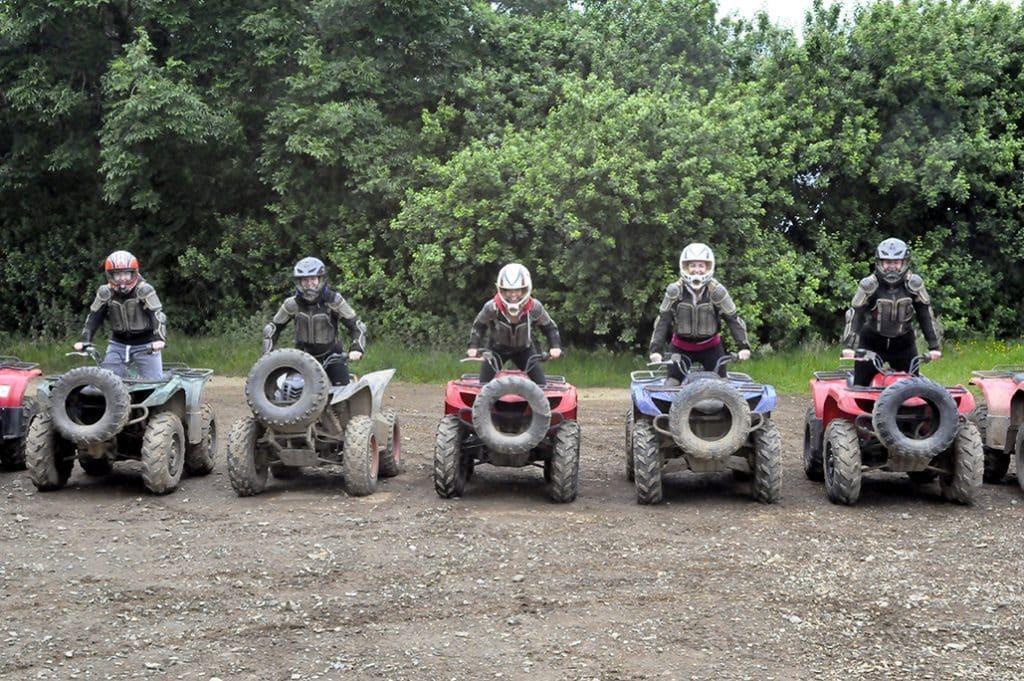 Quad biking is one of 10 thrilling activities for adrenaline junkies in Ireland