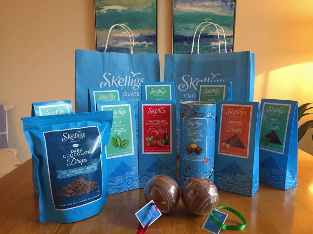 Skelligs is another of the top Irish chocolate brand in Ireland.
