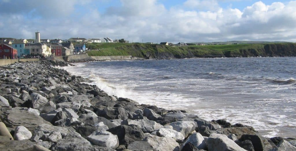 Lahinch Beach is one of Ireland's top 10 beaches, according to TripAdvisor