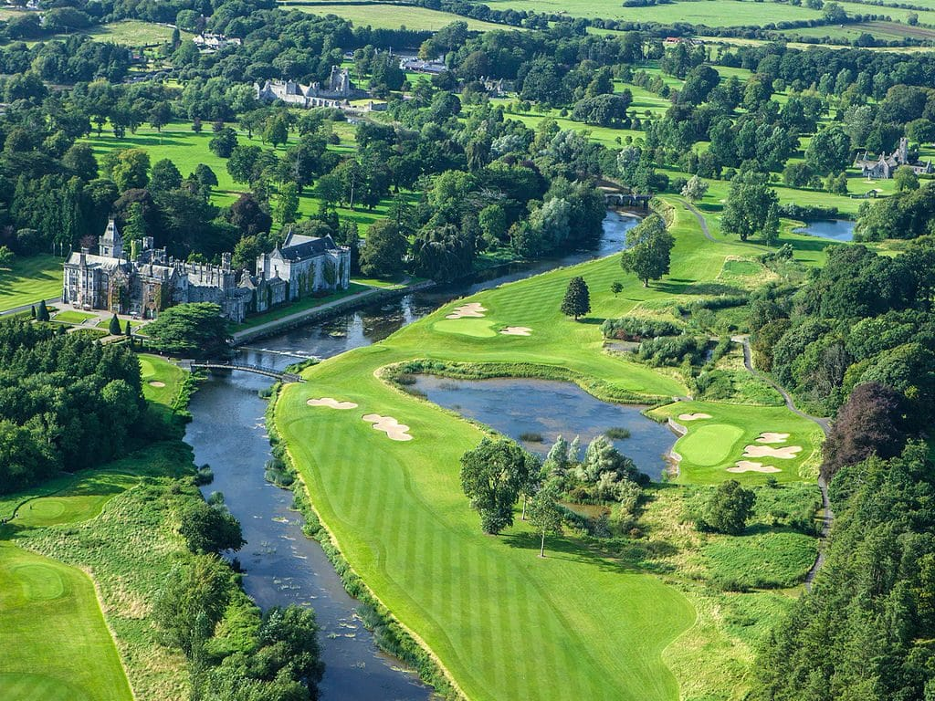 Adare Manor is set in the beautiful surroundings of County Limerick.