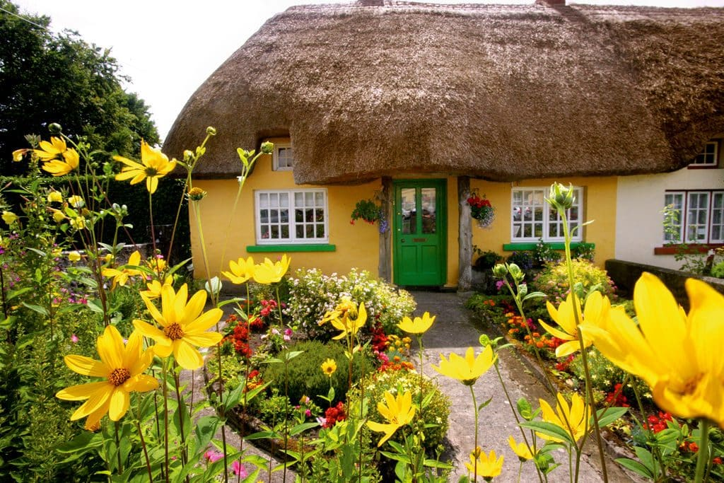 Adare is one of the 5 most picturesque villages in Ireland