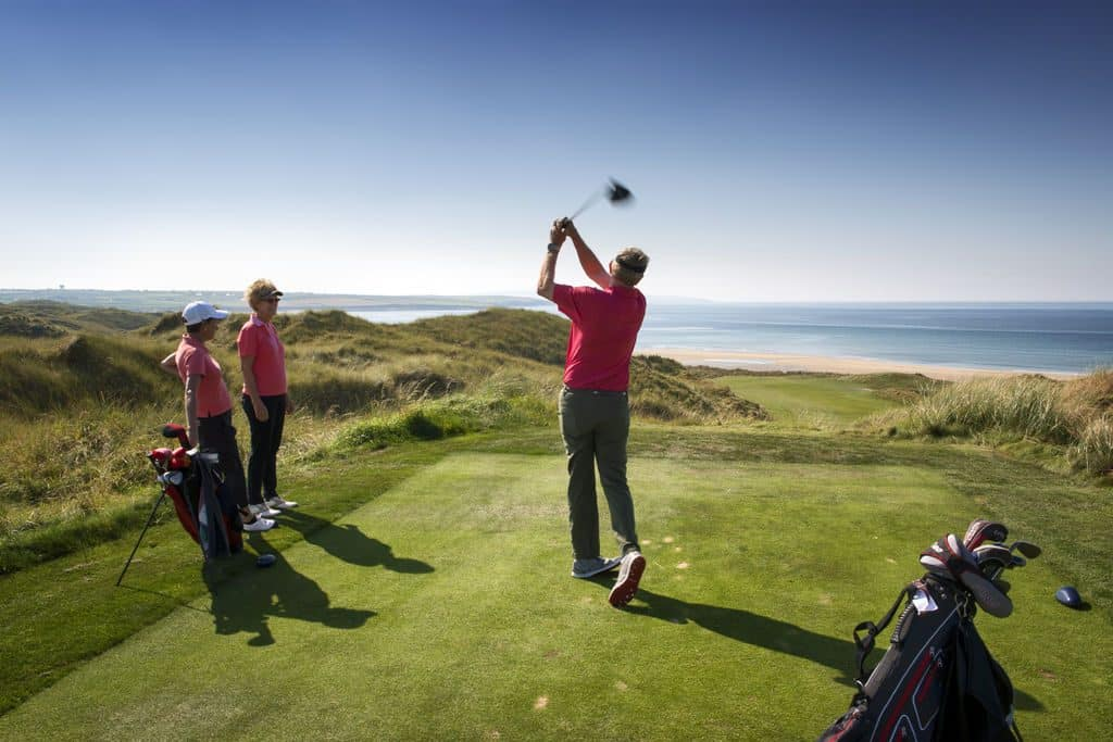 Ballybunion is another of the best golf courses in Ireland, a must-visit.