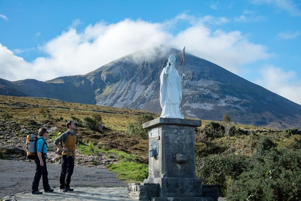 Another of the top best things to do in Ireland is climb Croagh Patrick.