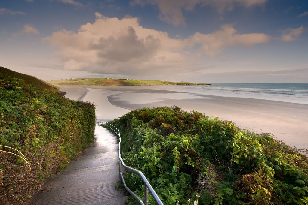 Inchydoney Beach in County Cork is the top beach on the Emerald Isle