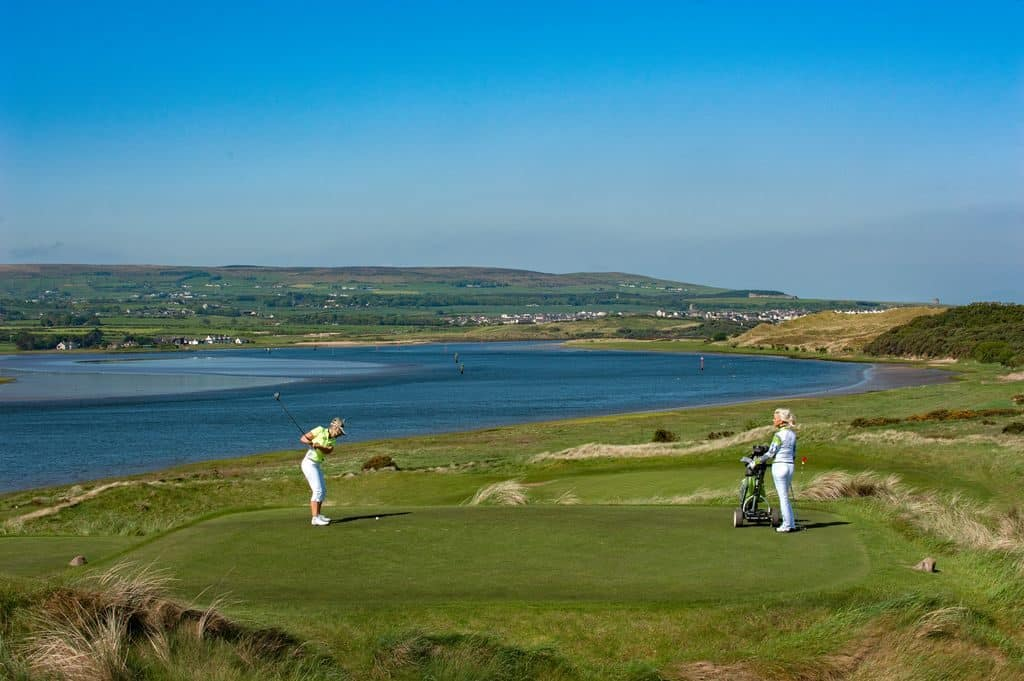 Portstewart Golf Club has impressive views