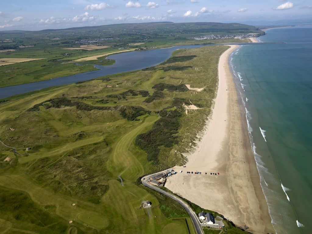 Portsteward Strand is one of 10 beautiful places to visit in Northern Ireland