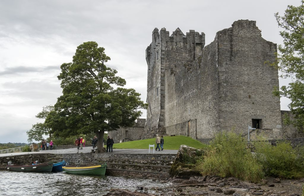 Ross Castle is another of the top Ring of Kerry highlights.