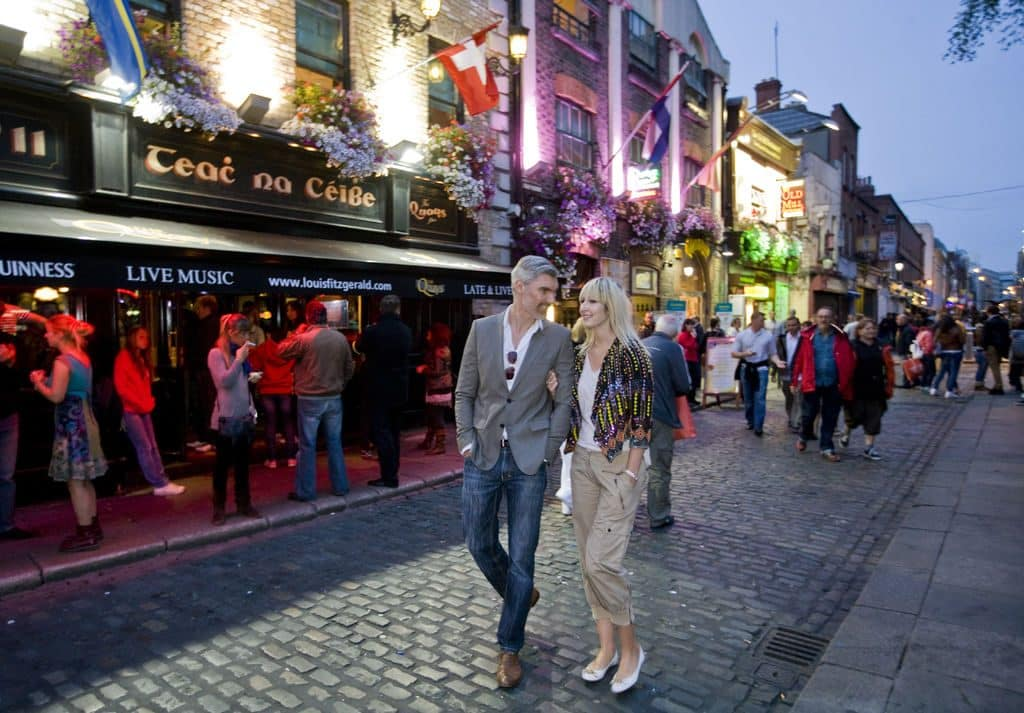Spend time in Dublin when travelling around Ireland