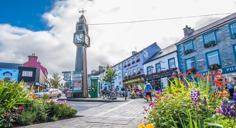 Westport is a charming town that gives charming countryside vibes.