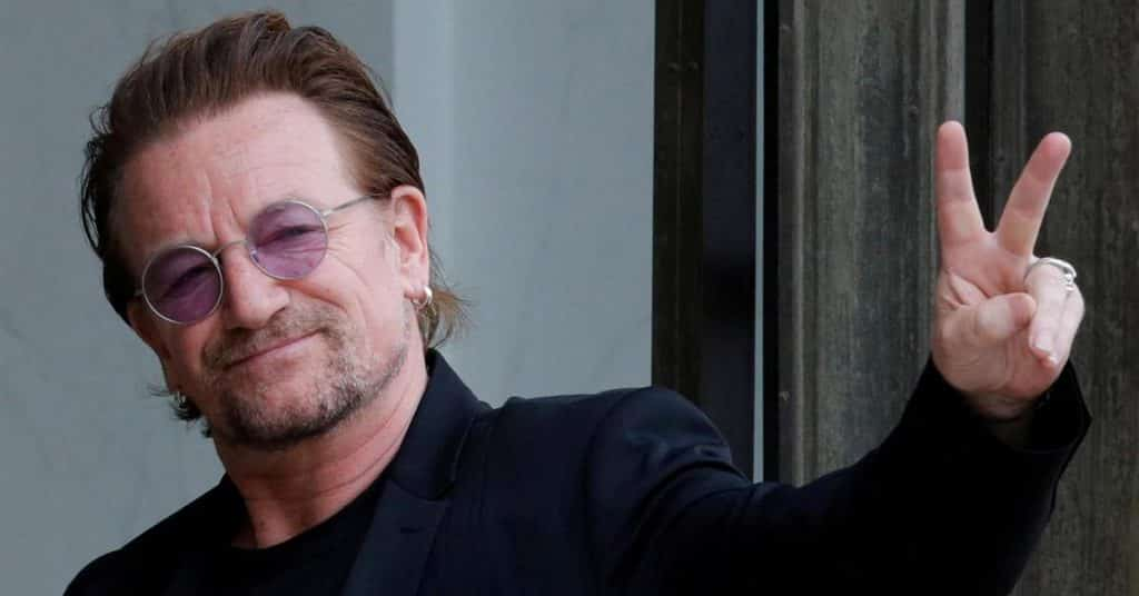Bono, lead singer of the band U2, is from Dublin