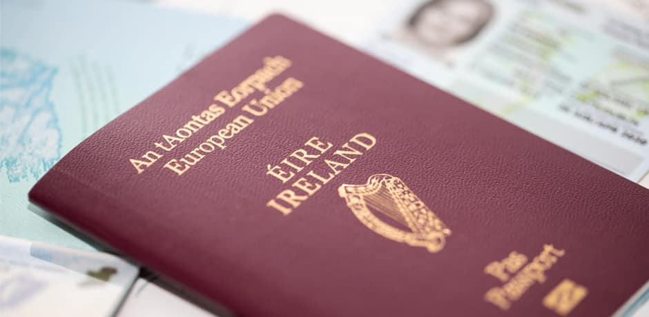 Irish citizenship was ranked second-best in the world in a new study