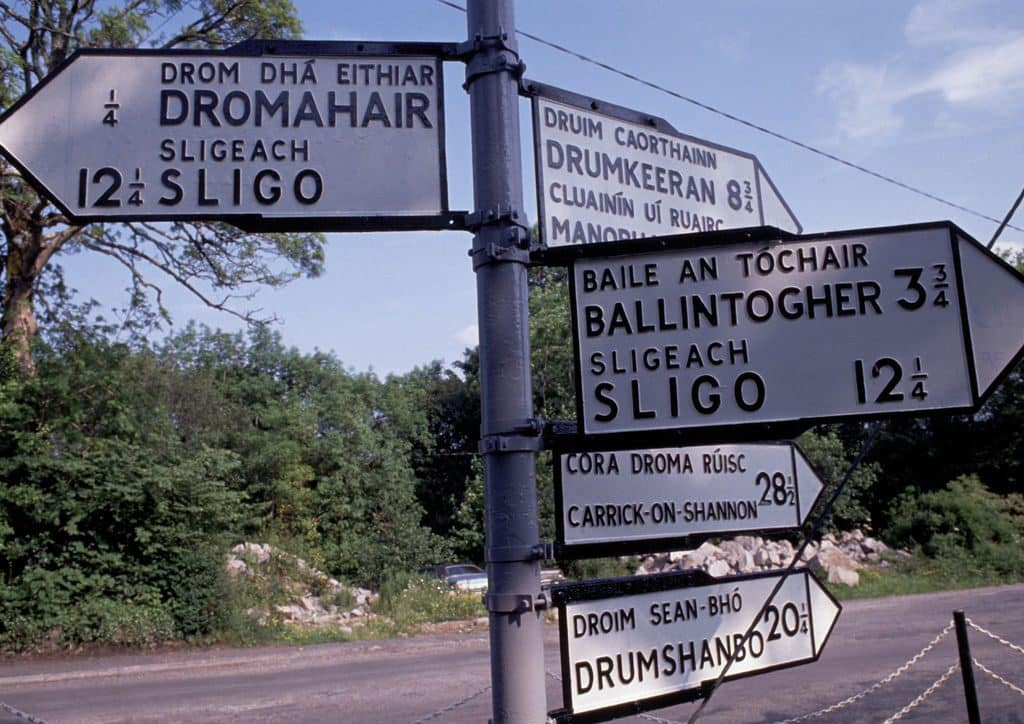 Some of the top funny Irish jokes is the one about getting directions.