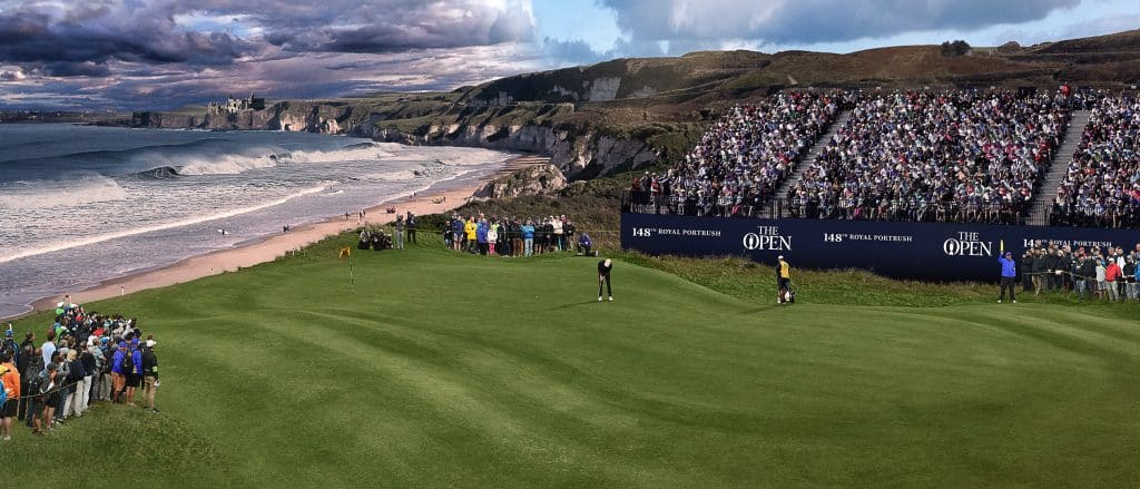 Another of the best golf courses in Ireland is Royal Portrush in County Antrim.