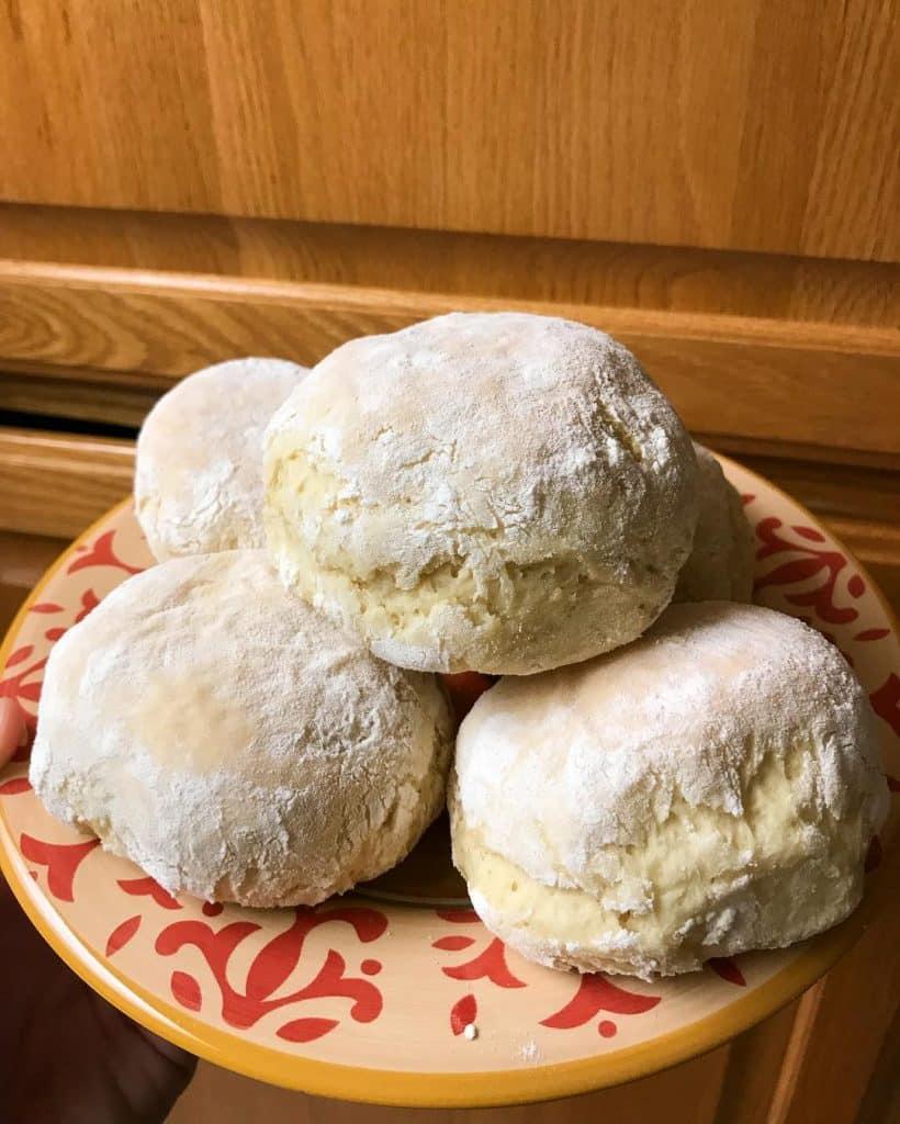 Blaa buns are popular in Ireland
