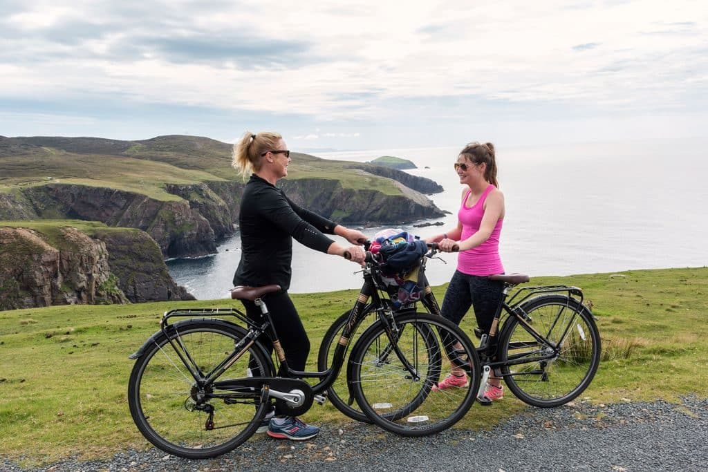 Cycling is one of the top 10 outdoor activities in Ireland