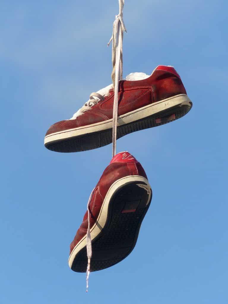 A great joke is about tying shoelaces.