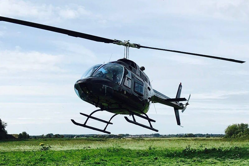 Helicopter rides offer one of the most unforgettable but affordable experiences in Ireland