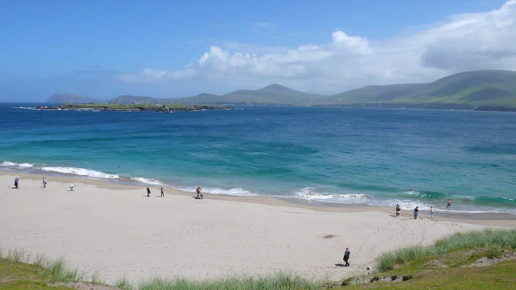 County Kerry offers beautiful beaches