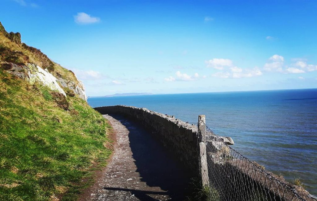 Bray Head Cliff Walk is one of the top 5 hikes and hill walks within an hour of Dublin