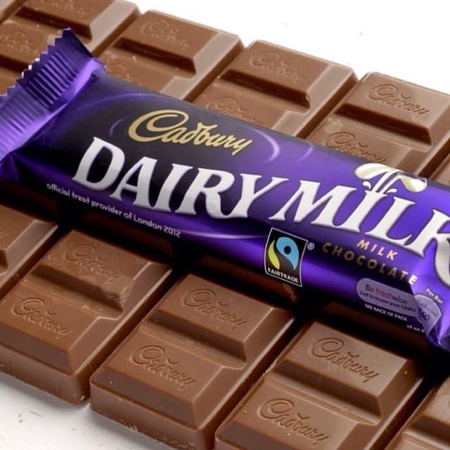 Cadburys is one of the top Irish chocolate brands.