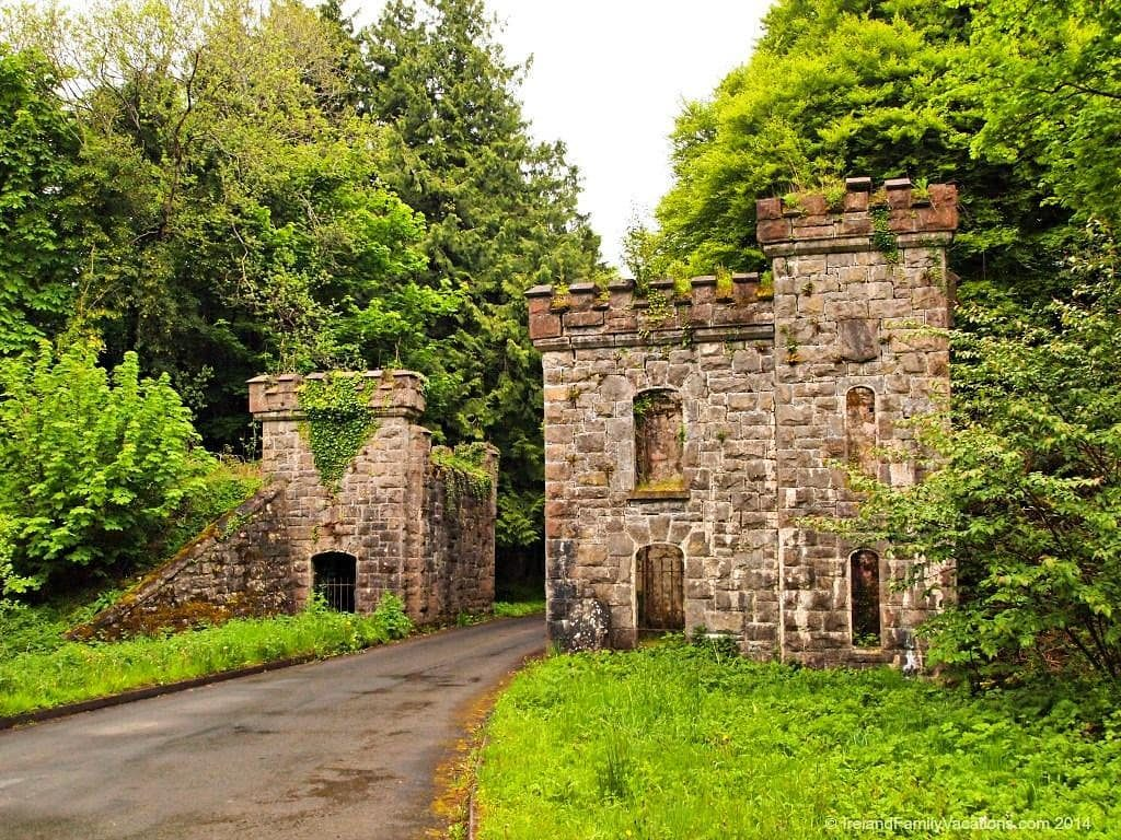Castle Caldwell Forest Park in Northern Ireland boasts outstanding views of Lough Erne's shores and a castle