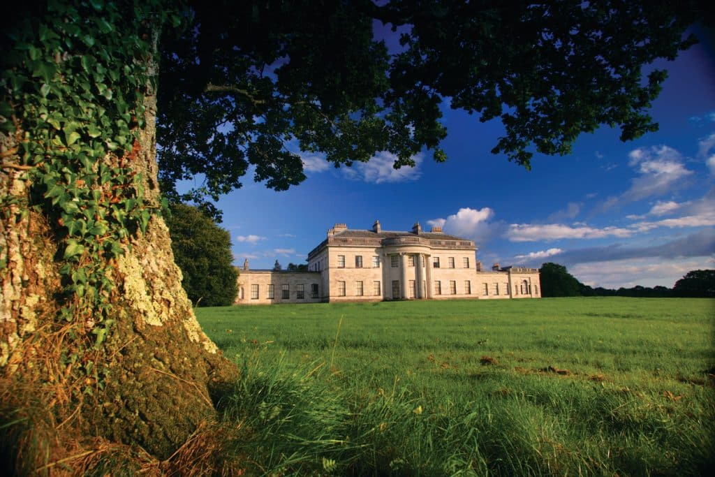 Castle Coole is one of the 5 best castles in County Fermanagh